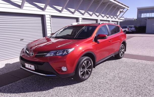 Home exchange in,Australia,Birtinya,Our Toyota RAV4 Cruiser SUV