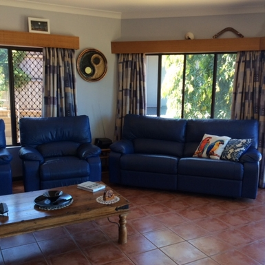 Home exchange in,Australia,Cairns,Upstairs Lounge Room