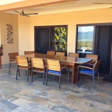 Home exchange in,Australia,Cairns,Front Balcony