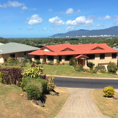 Home exchange in,Australia,Cairns,Ocean view from Balcony