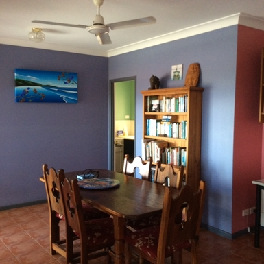 Home exchange in,Australia,Cairns,Inside Dining Room