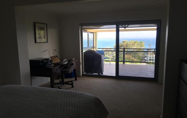 Home exchange in,Australia,WOOLGOOLGA,View from Master Bedroom