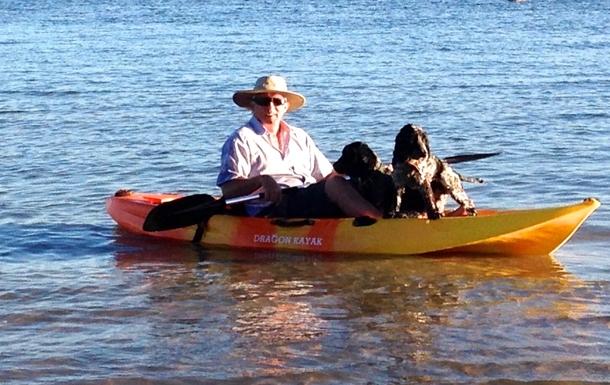 Home exchange in,Australia,BELLARA,Chris (with helpers) on the Passage