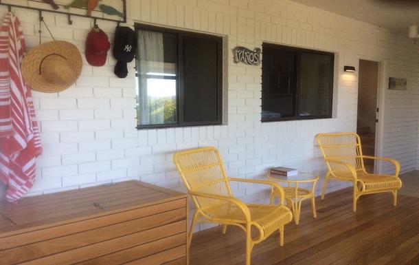 Home exchange in,Australia,WOOLGOOLGA,Downstairs Surfboard and Bicycle Room