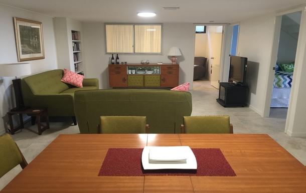 Home exchange in,Australia,WOOLGOOLGA,Downstairs Living/Dining Rooms