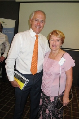 Home exchange in,Australia,REDCLIFFE,Prime Minister  Turnbull &  my novels