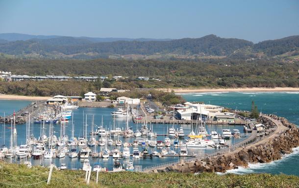 Home exchange in,Australia,Korora,Coffs Harbour from Muttonbird Island
