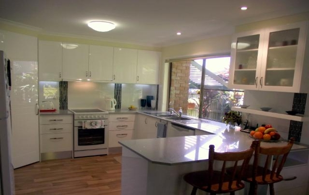 Home exchange in,Australia,NORTH BUDERIM,Beautiful new Kitchen - light and airy