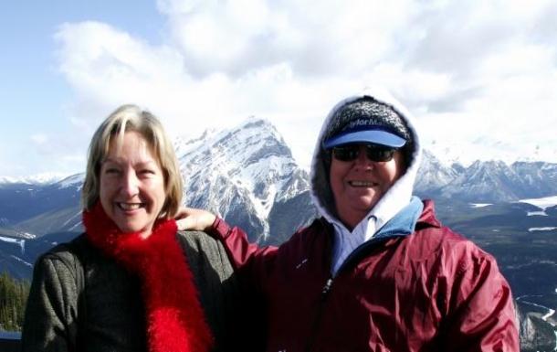 Home exchange in,Australia,NORTH BUDERIM,Ros & I above Banff - Alberta Canada