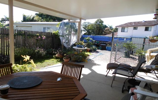 Home exchange in,Australia,HILLCREST,Back Garden from Patio