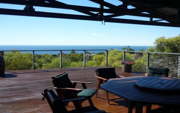 BoligBytte til,Australia,MARINO,Our deck with sea views