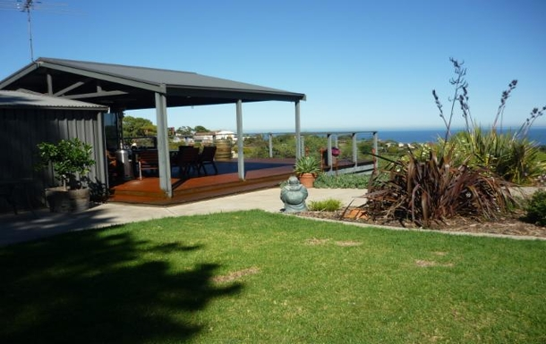 Home exchange in,Australia,MARINO,Our deck with sea views