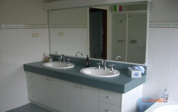 Home exchange in,Australia,ILLAWONG,Main bathroom