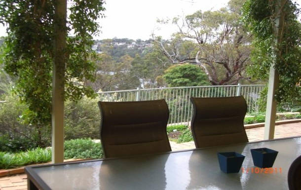 Home exchange in,Australia,ILLAWONG,Pergola with view