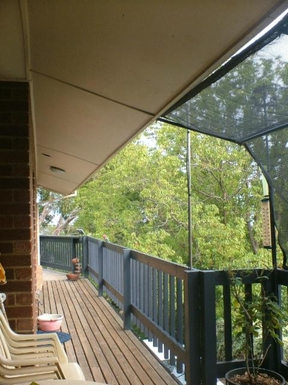 Home exchange in,Australia,LYNTON,Rosella on the northern deck