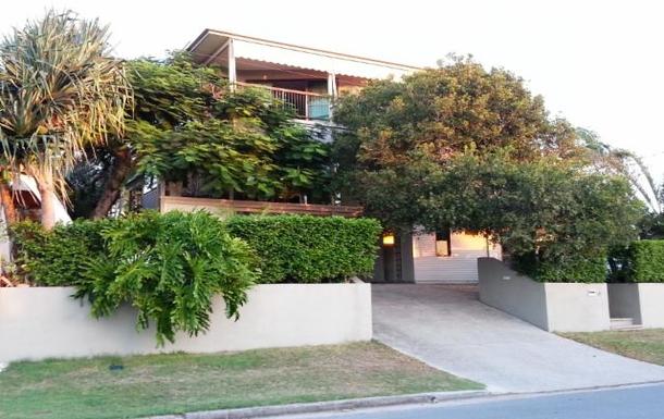 Home exchange in,Australia,BUDDINA,Street view...overlooking Mooloola River.