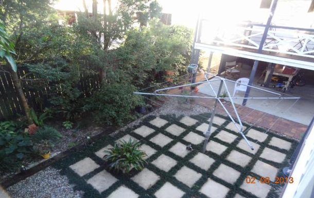 Home exchange in,Australia,WOOLOOWIN,Proper Australian Hills Hoist to get clothes dry