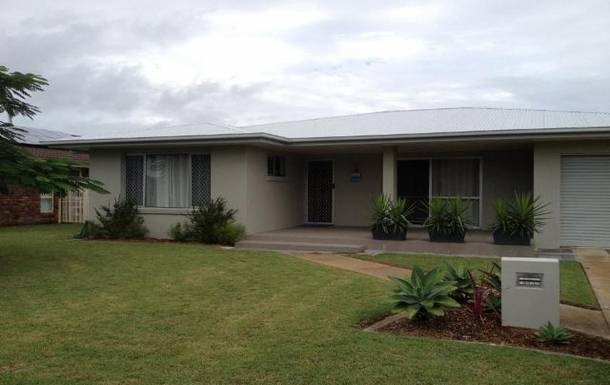 Home exchange in,Australia,URANGAN,Front of house facing north to the cool bay waters