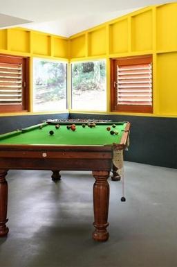 Home exchange in,Australia,BALMORAL RIDGE,Guest pool table