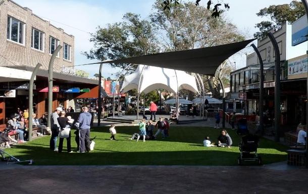 Home exchange in,Australia,LANE COVE,Lane Cove village plaza.