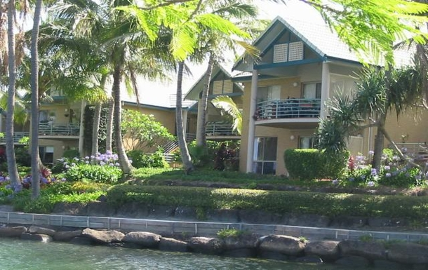 Home exchange in,Australia,TWEED HEADS,Our downstairs townhouse from the river