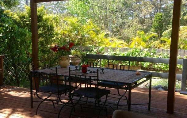 Home exchange in,Australia,COFFS HARBOUR,outside dining