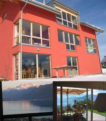Modern Villa ( 300 m2 ) overlooking Lake Geneva