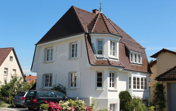 Our lovely 100 year old house in Überlingen