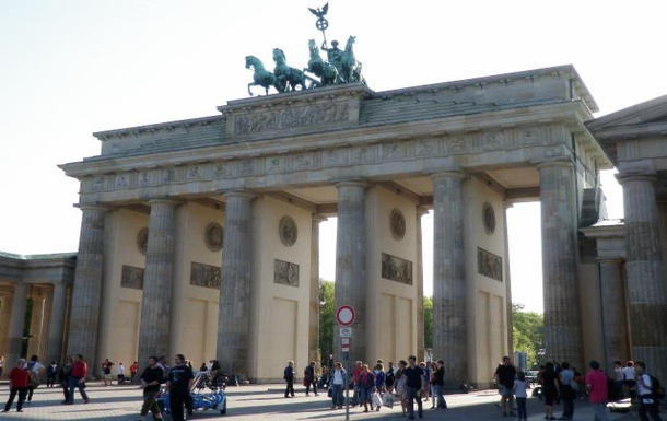 Brandenburger Tor, ~300m from the appartment
