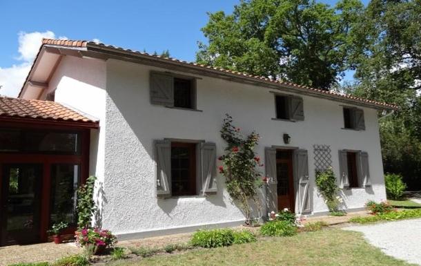 La maison en façade
