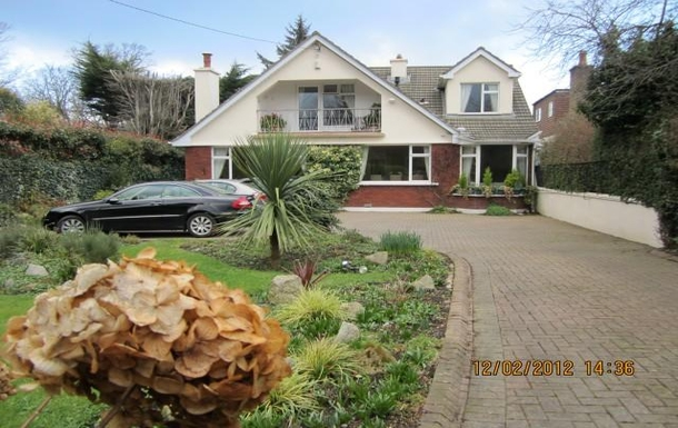 Ashbury, our home in the old village of Foxrock, i