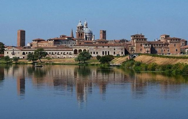Mantua skyline