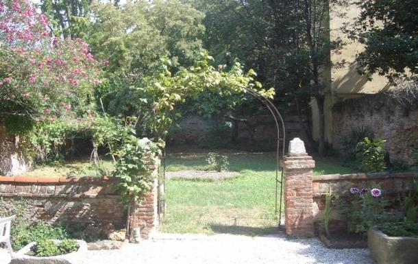 our private garden in Venezia