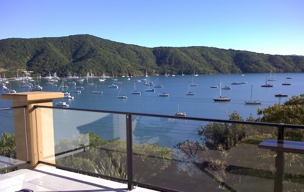 BoligBytte til,New Zealand,Picton,view from upper deck