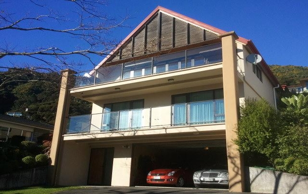 Home exchange in,New Zealand,Picton,Front of the house