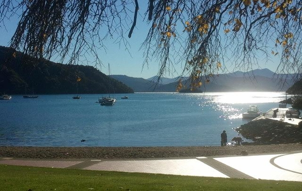 Home exchange in,New Zealand,Picton,Picton harbour 5km away
