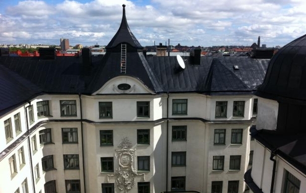 BoligBytte til,Sweden,Stockholm city, 0k,,View from our kitchen window