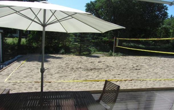 BoligBytte til,Sweden,Stockholm, 30k, NW,The beachvolley court close to a forest