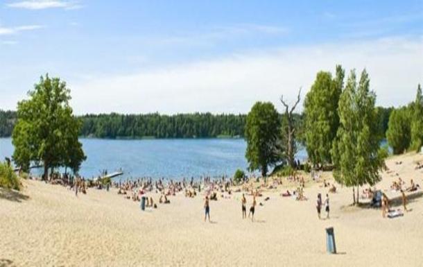 BoligBytte til,Sweden,Stockholm, 30k, NW,Beach close to Mälaren Kallhällsbadet