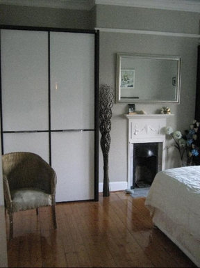 BoligBytte til,United Kingdom,Edinburgh,Main bedroom, king size bed