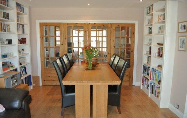Home exchange in,United Kingdom,Plymouth,Doors can be opened for full open plan