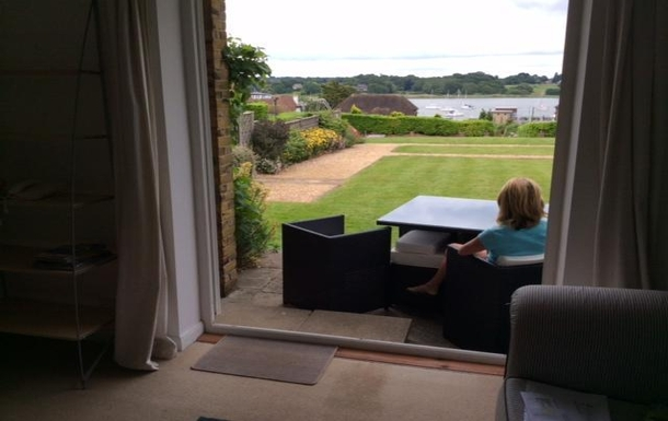 Home exchange in United Kingdom,Hamble, Hampshire,Lovely apartment with pool and river views,Home Exchange & Home Swap Listing Image