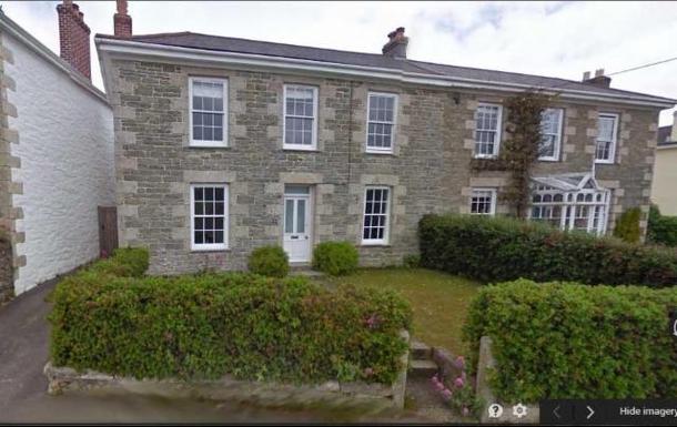Koduvahetuse riik Suurbritannia,Falmouth, Cornwall,Beautiful village on the Cornish coast,Koduvahetuse kuulutuse pilt