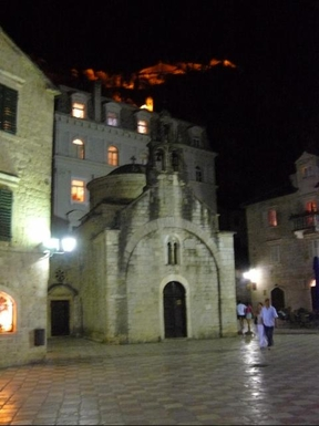 BoligBytte til,Montenegro,Risan,1 of the churches in nearby medieval City of Kotor