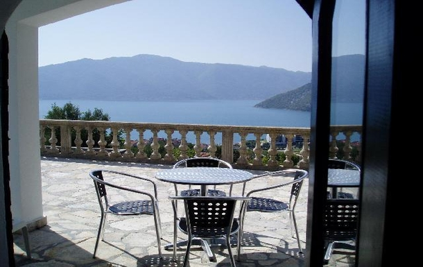 BoligBytte til,Montenegro,Risan,View from the lounge of the second level apartment
