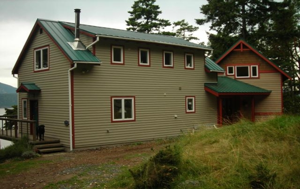 Our Orcas Island home.