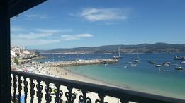 Wohnungstausch in/Spain/Raxó /View from our living-room: beach, sea and mountain