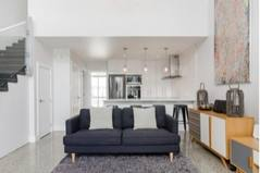 Home exchange country/New Zealand/Auckland/View of part of lounge through to kitchen