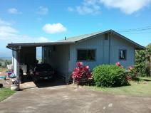 Home exchange in/United States/Kula/Our home with carport