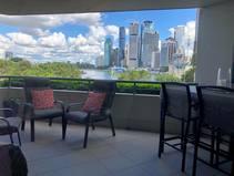 Wohnungstausch in/Australia/Brisbane/VIEW FROM THE BALCONY OF CITY